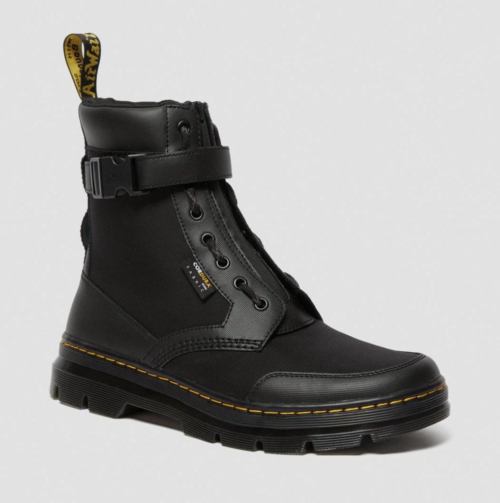 black boots, boots, combat boots, dr martens