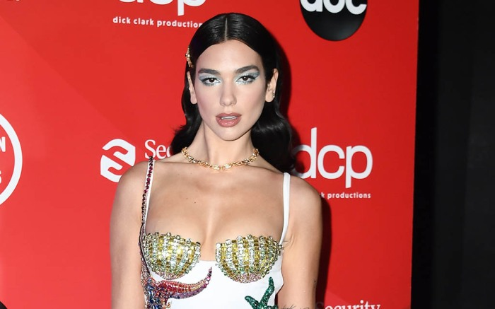 "THE 2020 AMERICAN MUSIC AWARDS - ""The 2020 American Music Awards"", hosted by Taraji P. Henson aired from the Microsoft Theater in Los Angeles, SUNDAY, NOV. 22 (8:00-11:00 p.m. EST), on ABC. (Getty Images for dcp)DUA LIPA"