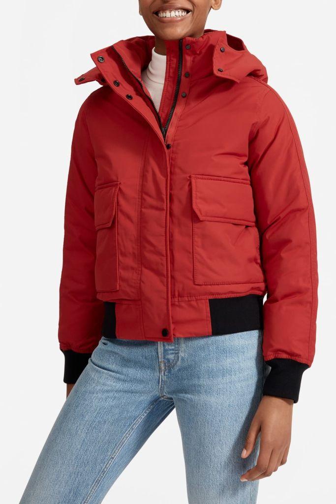 everlane bomber jacket