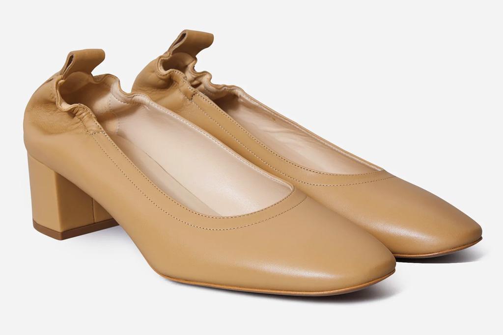 sandals, heels, comfort, most comfortable shoes, everlane