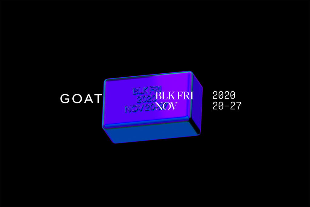 GOAT Black Friday: $100,000 in Credits