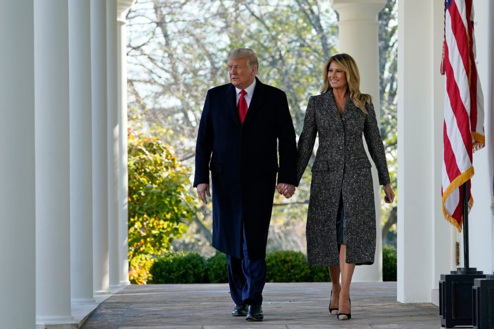 ivanka trump, thanksgiving, turkey pardon, skirt, coat, heels, shoes, white house