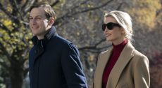Ivanka Trump Wears Timeless Camel Coat and Knee-High Boots Returning to the White House After Thanksgiving