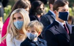 Ivanka Trump, son Theodore, husband Jared