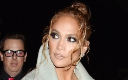 jennifer lopez, jlo, jacket, dress,