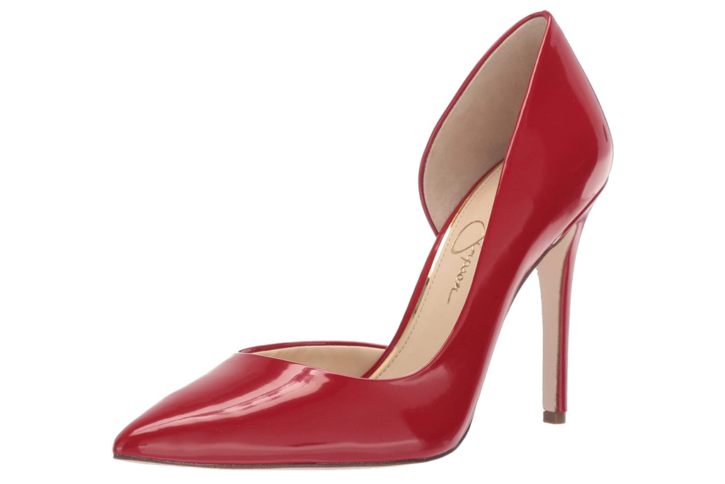 red heels, pumps, patent, shoes