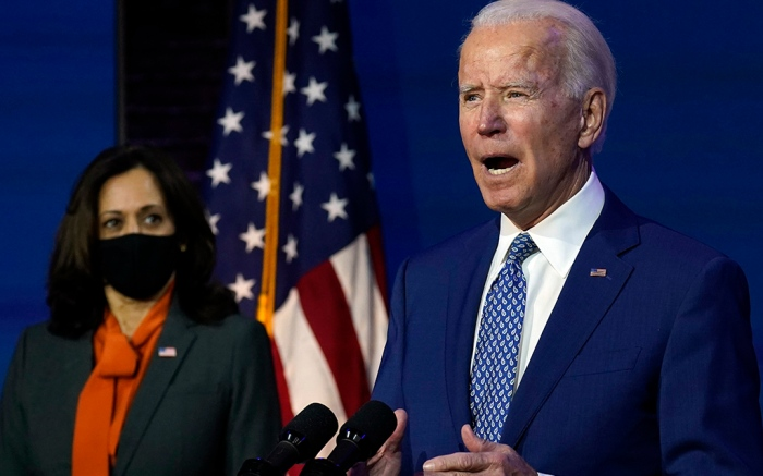 President-elect Joe Biden Vice President-elect Kamala Harris