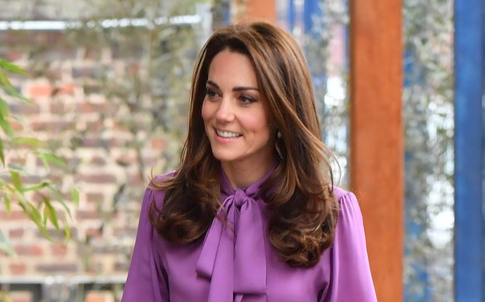 The Duchess of Cambridge visits the Henry Fawcett Children's Centre in Lambeth, London, UK, on the 12th March 2019. Picture by Arthur Edwards/WPA-Pool. 12 Mar 2019 Pictured: Catherine, Duchess of Cambridge, Kate Middleton. Photo credit: MEGA TheMegaAgency.com +1 888 505 6342 (Mega Agency TagID: MEGA379422_002.jpg) [Photo via Mega Agency]