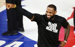lebron james, blm