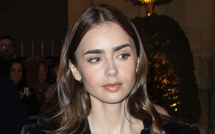 lily-collins-dress-boots