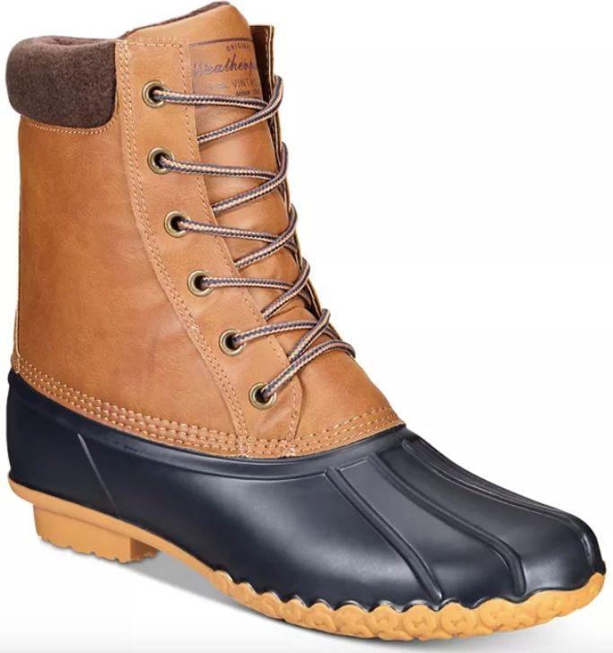 weatherproof vintage boots