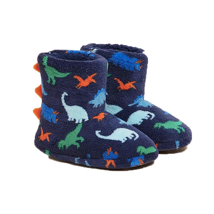 Marks and Spencer Kids' Dinosaur Slipper Boots