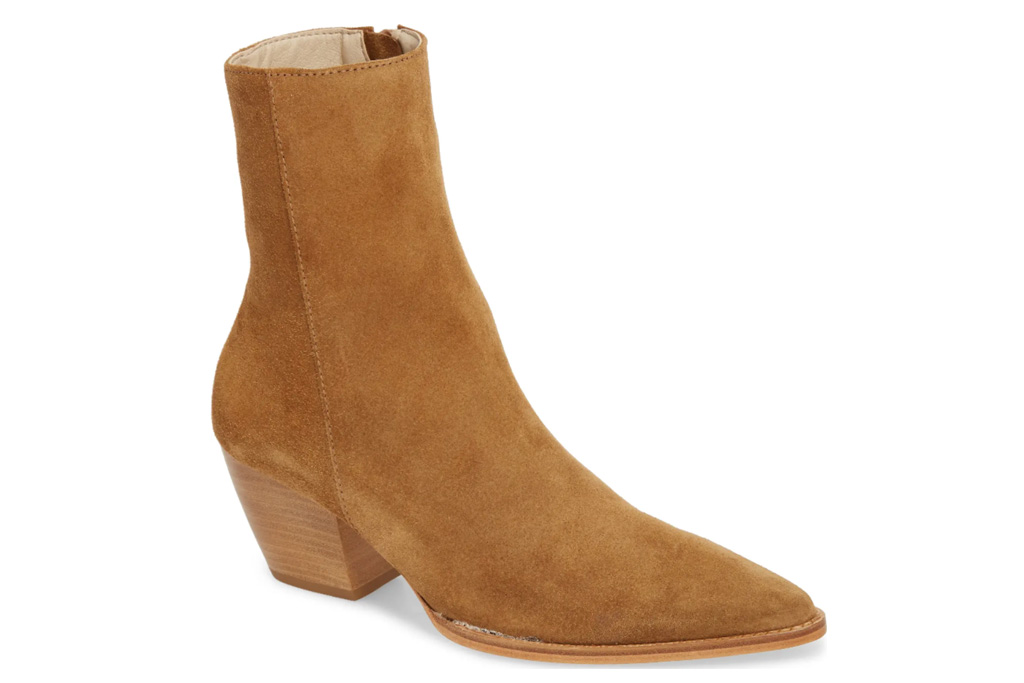 suede boots, leather boots, brown boots, matisse