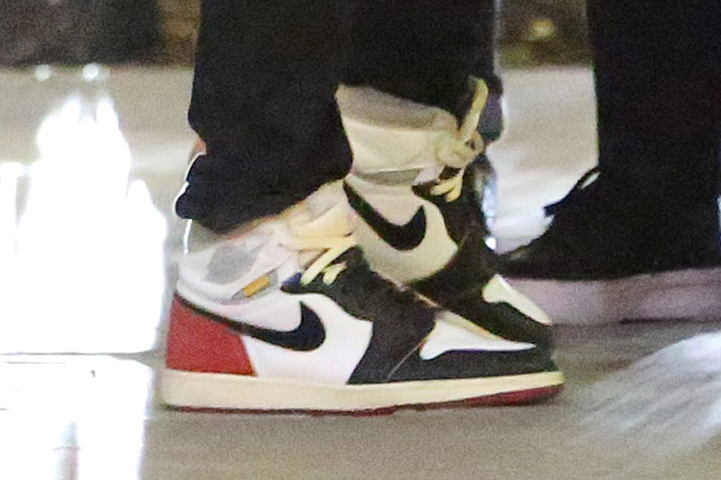 michael b jordan, sneakers, air jordan, los angeles, t-shirt, jeans, style