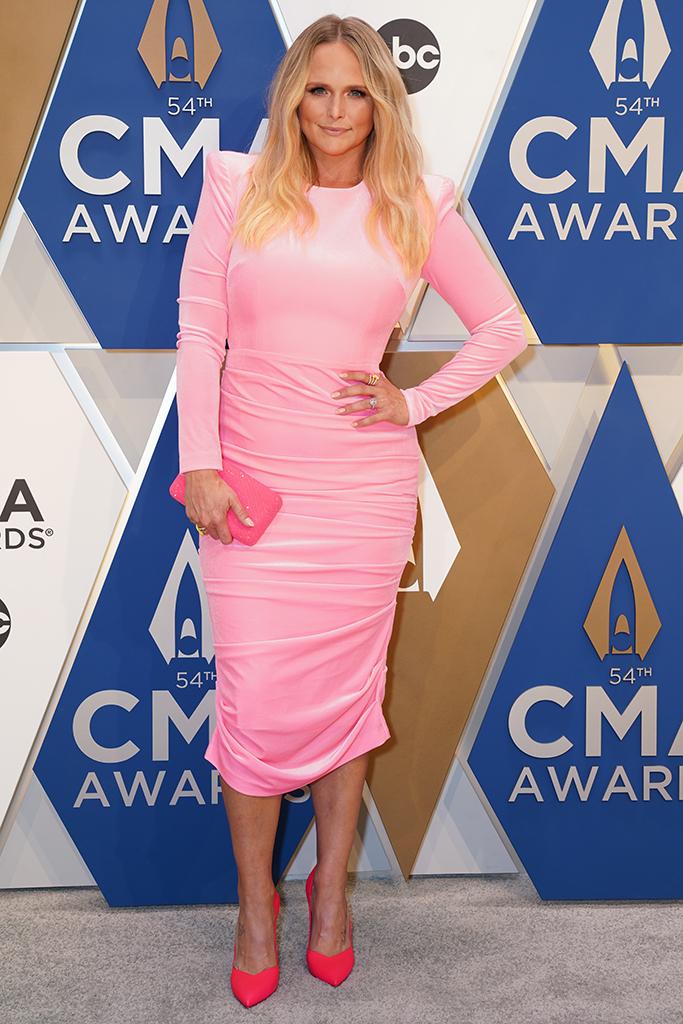 "Miranda Lambert at ""The 54th Annual CMA Awards"" on Wednesday, November 11, 2020 at Music City Center in Downtown Nashville."