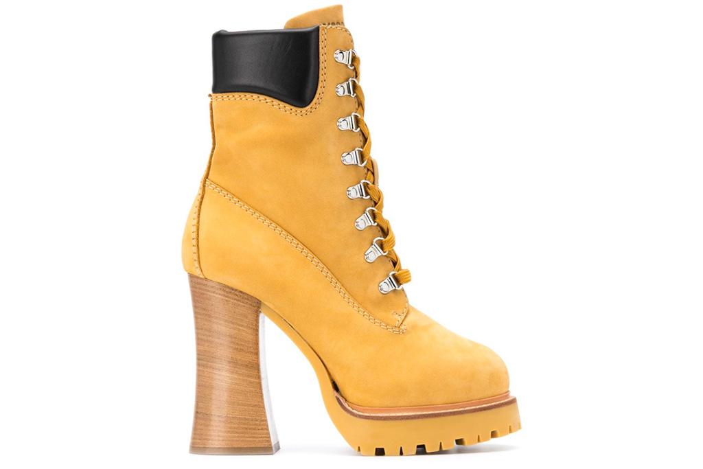 Moschino Combat Trekking boots, timberland