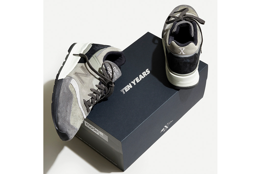 New Balance X J.Crew 997 10th Anniversary sneakers, new balance x j. crew collab, grey sneakers