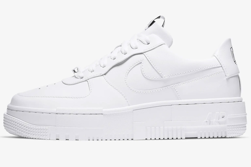 sneakers, white, low top, nike
