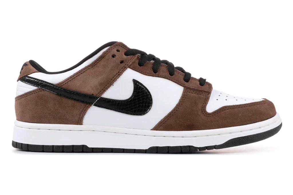 nike, dunk, brown, white, sneakerrs