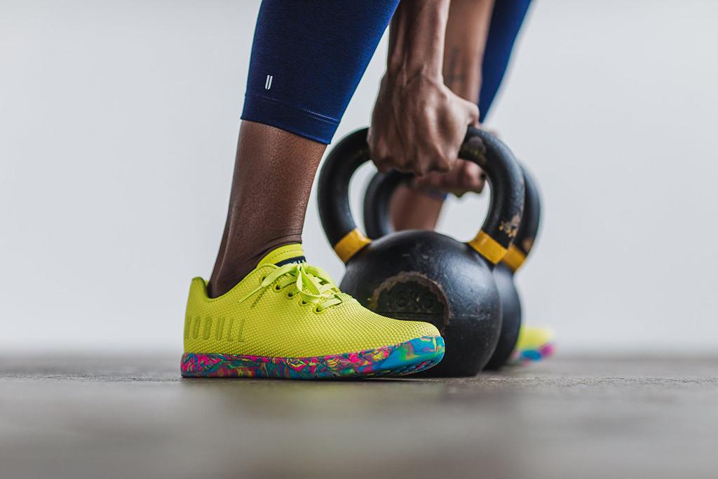 Nobull Neon Yellow Swirl Trainer