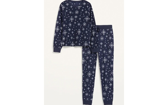 old navy pj sale, holiday pjs, women's pjs
