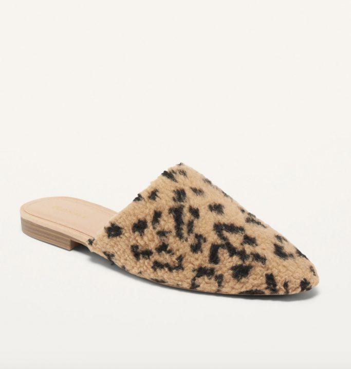 Old Navy Sherpa Flats