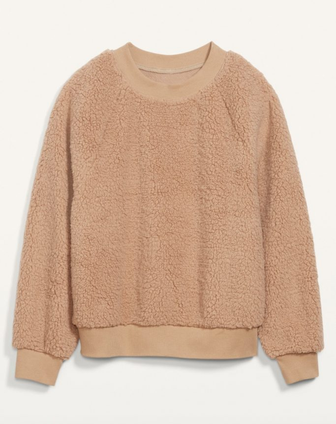 Old Navy Sherpa Sweatshirt