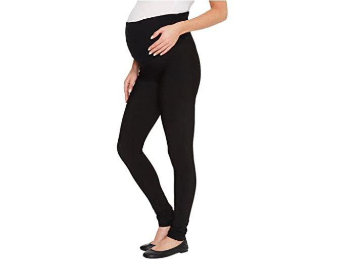 plush maternity fleece lined leggings