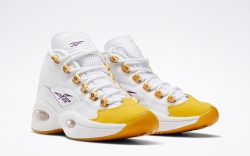 Reebok Question Mid Yellow Toe