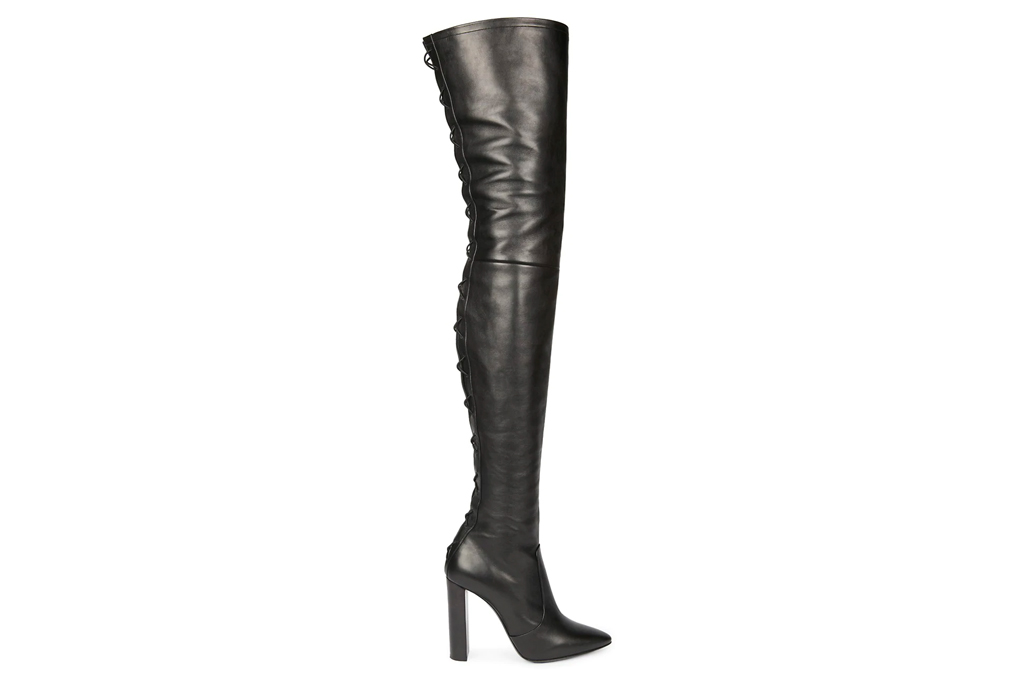 Saint Laurent Moon, leather boots, boots, leather