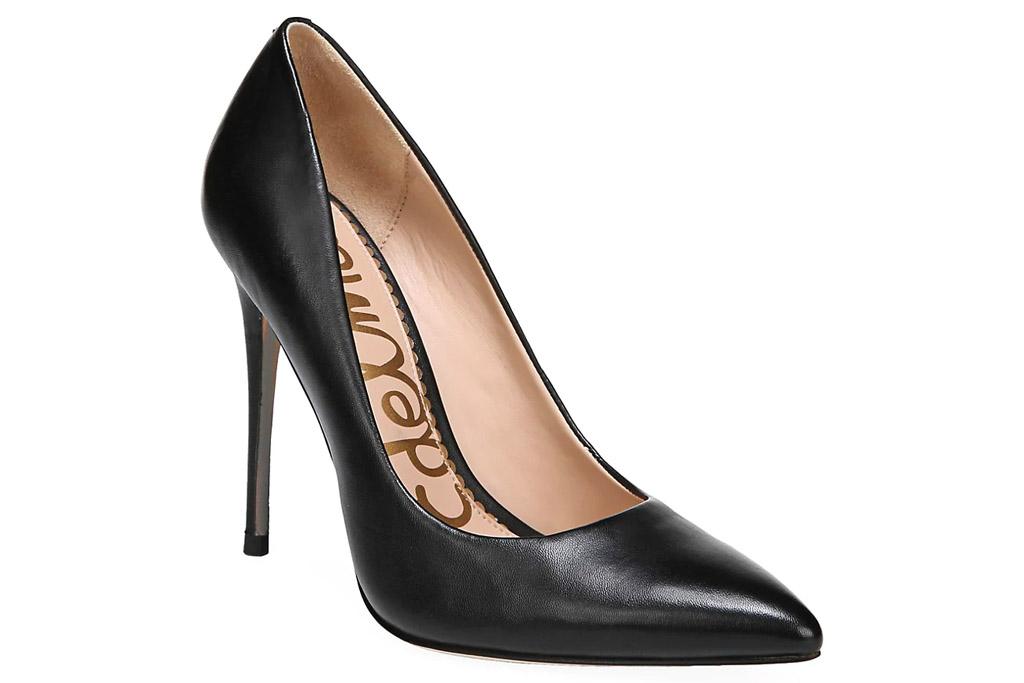 sam edelman, heels, black