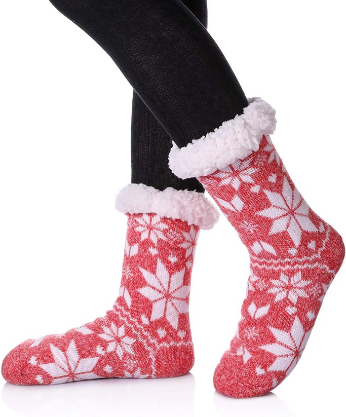 sdbing womens snowflake socks