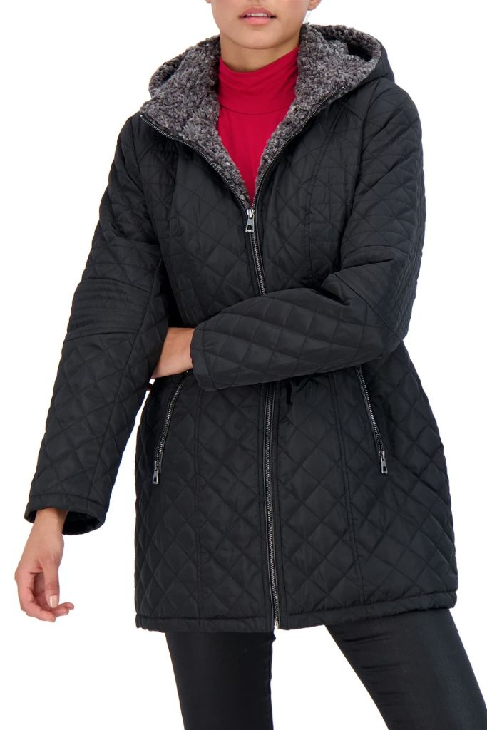 sebby faux fur jacket