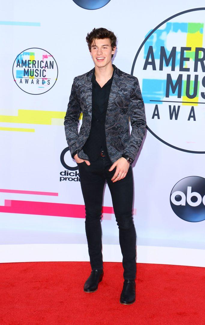 Celebrities arrive for the red carpet of the American Music Awards 2017 in Los Angeles, CA.Pictured: Shawn Mendes,Shawn MendesAlessia CaraAnsel ElgortCiaraNick JonasCorinne FoxxJamie FoxxDj KhaledfamilyNicole KidmanKeith UrbanJenna Dewan TatumRef: SPL1626959 191117 NON-EXCLUSIVEPicture by: SplashNews.comSplash News and PicturesUSA: +1 310-525-5808London: +44 (0)20 8126 1009Berlin: +49 175 3764 166photodesk@splashnews.comWorld Rights
