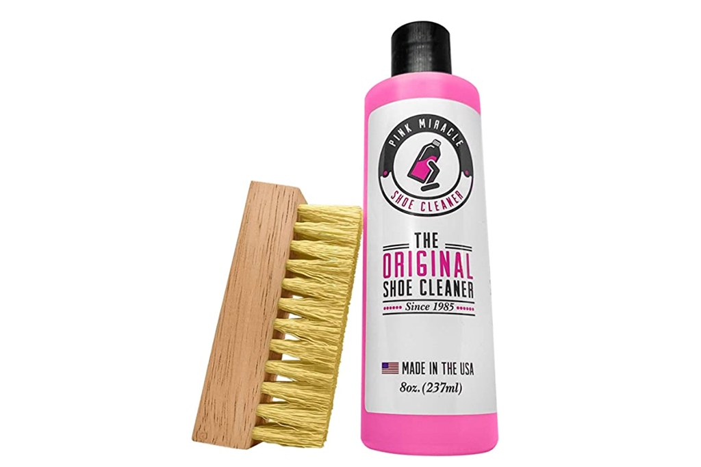 sneaker cleaner, best sneaker cleaner, cleaners for sneakers, Shoe Cleaner, Pink Miracle Shoe Cleaner Kit