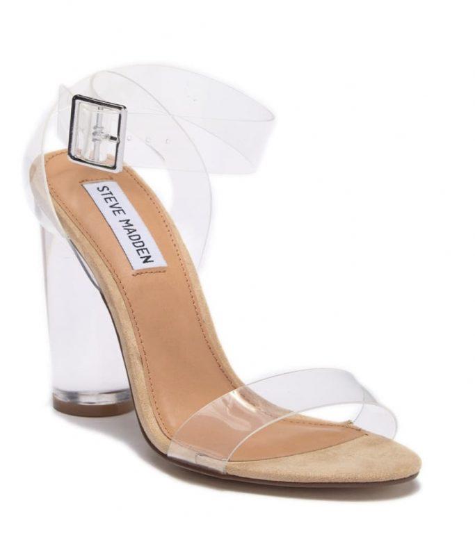 Steve Madden Transparent Heels