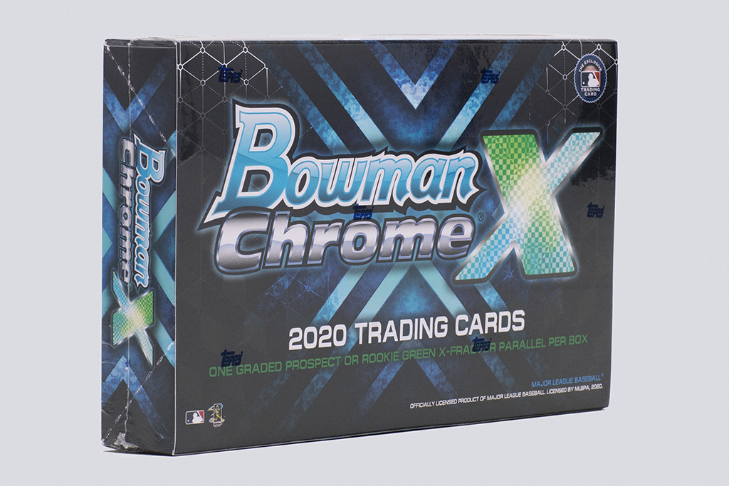 StockX 2020 Bowman Chrome X trading cards