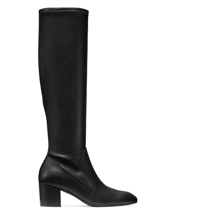 Stuart Weitzman Black Knee-High Boots