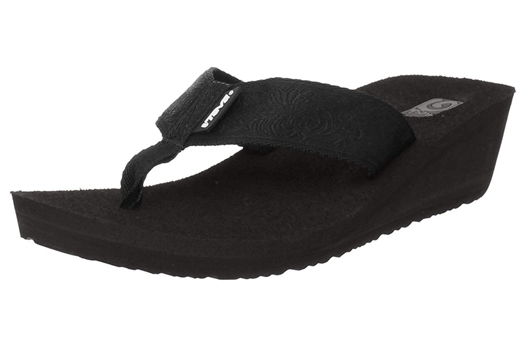thong sandals, flatform, platform, thong, teva