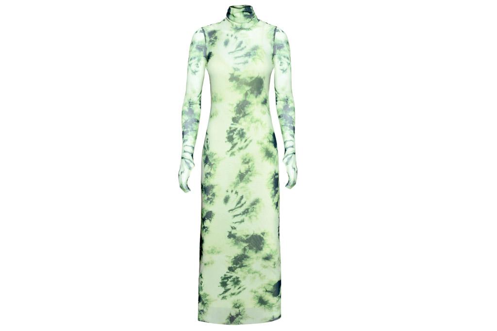 dress, tie dye