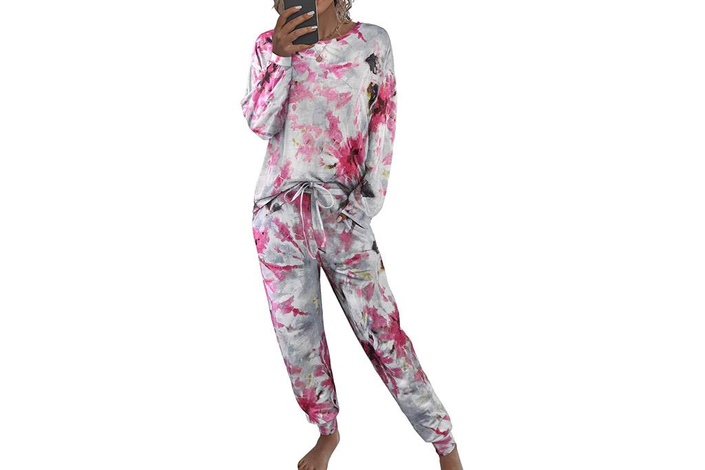pajamas, lounge, floral