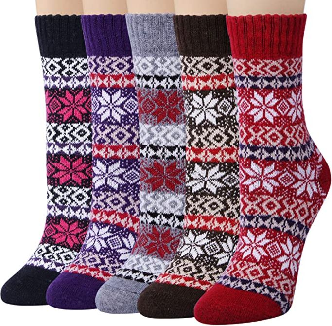 Loritta womens crew sock