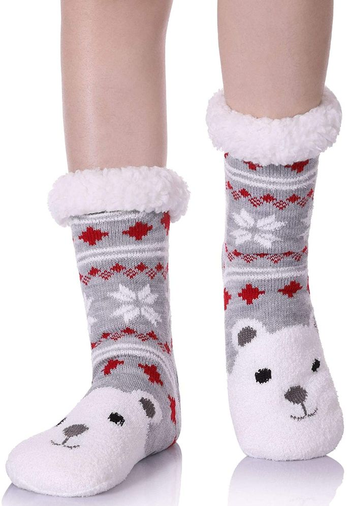 yebing holiday slipper socks