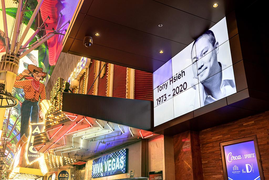 Zappos Tony Hsieh Las Vegas Golden Gate hotel-casino