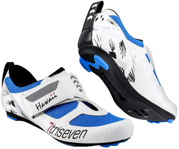 TriSeven Premium Triathlon Cycling Shoes