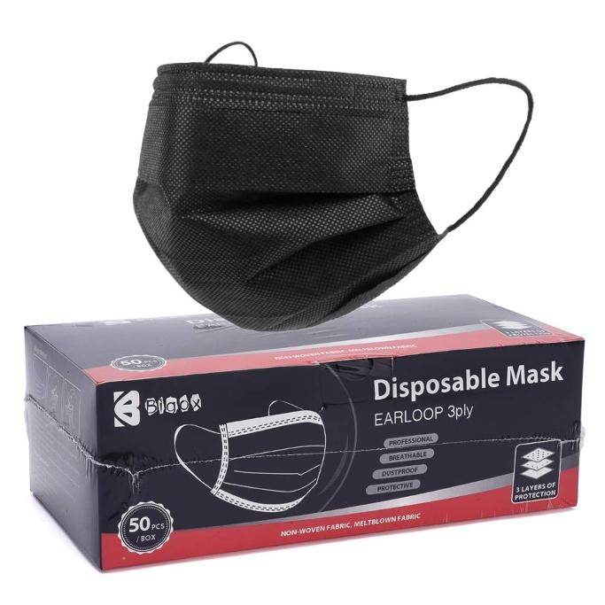 Bigox Black Face Masks
