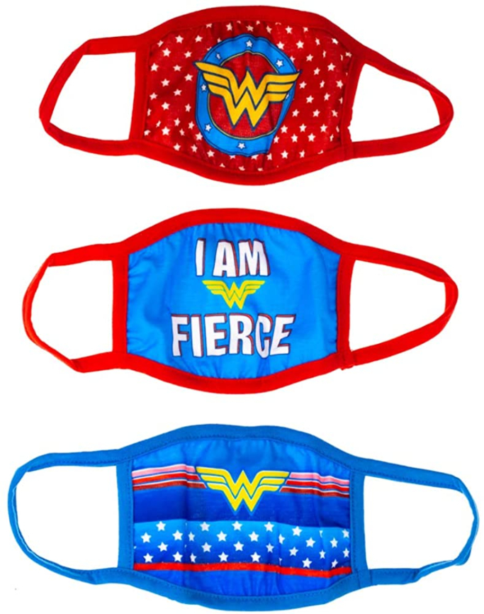 Bioworld Youth Wonder Woman Face Masks