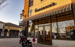 Francesca's store and logo seen at