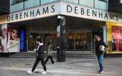 Debenhams faces liquidation. Debenhams in Oxford