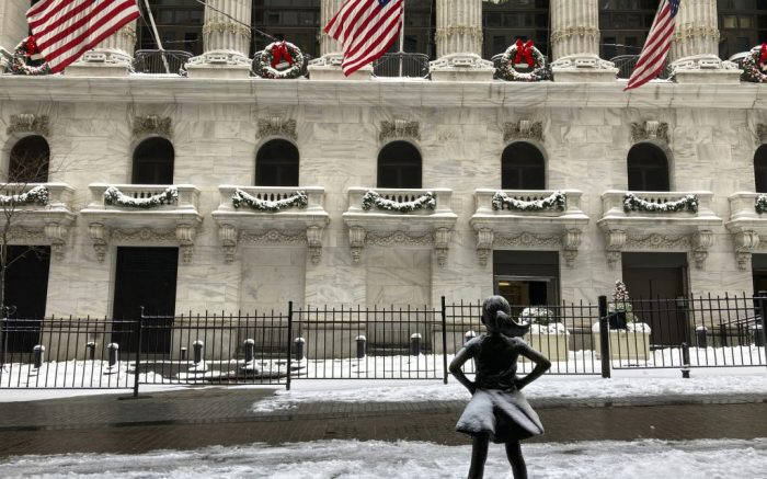 Photo by: STRF/STAR MAX/IPx 2020 12/31/20 Dow climbs to record high to close out 2020.